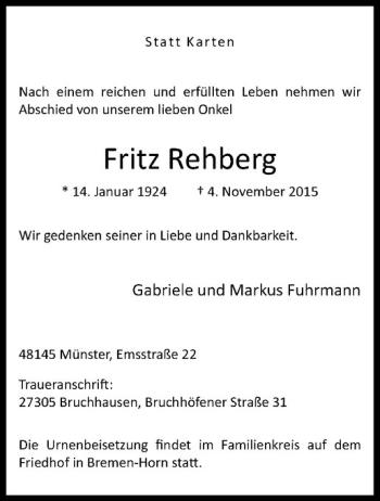 rehberg